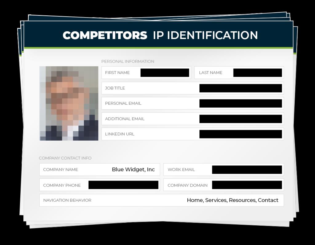 Competitors IP Identification